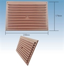 "Klober Standard Face Fit Vent - 9"" x 6"" - Brown - Pack of 30"