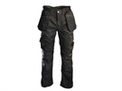 "Roughneck Holster Work Trouser - Black - Waist 42"" Leg 33"""