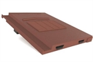 Manthorpe In Line Tile Vent - Non-Profile Tiles - Antique Red