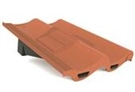 Manthorpe In Line Tile Vent - Double Pantile - Terracotta