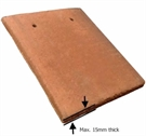 VELUX EDP CK01 0000 Plain Tile Flashing 55x70cm