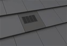 Manthorpe In Line Tile Vent - Thin Leading Edge Tile Vent - Grey