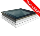 ECO+ Fixed Flat Glass Rooflight with Switch Glass 90x120cm