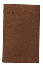 Marley Concrete 143 Plain Eaves / Top Tile - Dark Red