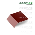 Roofart Double-Module Umbrella Apron Eaves - Brick Red