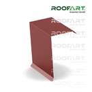 Roofart Double-Module Umbrella Small Exterior Gable - Brick Red