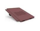 Manthorpe In Line Tile Vent - Thin Leading Edge Tile Vent - Antique Red