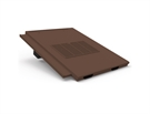 Manthorpe In Line Tile Vent - Thin Leading Edge Tile Vent - Brown