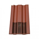 "Klober Venduct Profile-Line In-Line Tile Vent - 15"" x 9"" Tiles - Antique Red Granular"