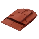 Ubbink UB8 In Line Plain Tile Vent - Red