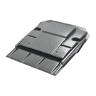Ubbink UB8 In Line Plain Clay Slip Tile Vent - Anthracite