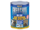 Everbuild Evercryl One Coat 5kg Black