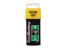 Stanley TRA7 Heavy Duty Staples - 12mm - Pack 1000
