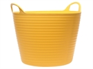 Faithfull Heavy-Duty Polyethylene Flex Tub - 42 Litre