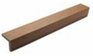 Castle Corner Fascia Trim - Oak - 2.44m