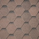 IKO Armourshield Hexagonal Shingles - Brown - Pack of 21 - 3m²