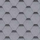IKO Armourshield Hexagonal Shingles - Grey - Pack of 21 - 3m²