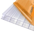 Axiome Clear Flat Triplewall Polycarbonate Sheet - 1250mm x 16mm x 2000mm