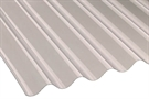 "Vistalux 8/3"" Iron Corrugated Heavy Duty Sheet - Clear - 660mm x 1830mm x 1.1mm"