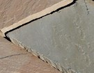 Global Stone Premium Sandstone Circles - Buff Brown - 3.6m Outer Ring