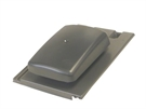 Ubbink UB19 Hooded Tile Vent for Mini Stonewold Tiles - Anthracite