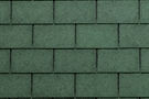 Bardoline US20 Bitumen Shingle Tile Strip - Green - Pack of 21