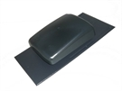 Ubbink UB19 Hooded Slate Vent for 500x250mm Slates - Anthracite