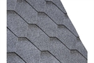 IKO Armourshield Hexagonal Bitumen Roofing Shingles - Granite Grey - Pack of 21 - 3m²