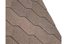 IKO Armourshield Hexagonal Bitumen Roofing Shingles - Brown - Pack of 21 - 3m²