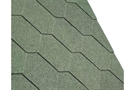 IKO Armourshield Hexagonal Bitumen Roofing Shingles - Forest Green - Pack of 21 - 3m²