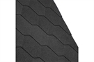 IKO Armourshield Hexagonal Bitumen Roofing Shingles - Black - Pack of 21 - 3m²