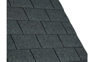 IKO Armourglass Square Butt Bitumen Roofing Shingles - Black - Pack of 21 - 3m²