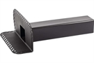 "Ryno T-Pipe Horizontal Rainwater Outlet - 100mm x 100mm / 4 x 4"" - For Felt/Asphalt/EPDM Roof"