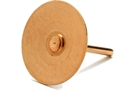 Copper Disc Rivets - Box of 100