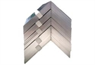 "Aluminium Soakers - 100mm x 75mm / 4"" x 3"" (Pack of 25) 250mm / 10 Inches"