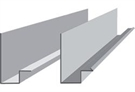 Aluminium Gutter - 2.4m / 8' 225mm / 9 Inches