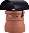 Brewer Bonnet Cowl Chimney Cowl - Black Painted
