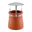 Brewer Traditional Chimney Raincap - Natural Aluminium