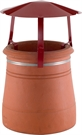 Brewer Traditional Chimney Raincap - Terracotta Painted