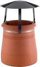 Brewer Traditional Chimney Raincap - Black Painted