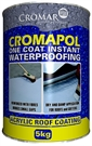 Cromar Cromapol One Coat Instant Waterproofing - Black - 1L