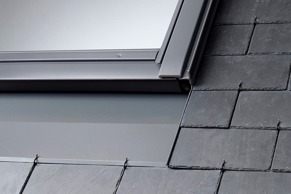 VELUX EDN CK04 2000 Recessed Slate Flashing with Insulation 55x98cm