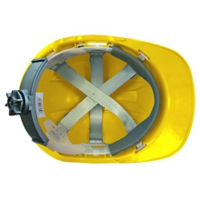 Scan Deluxe Safety Helmet Yellow Roofinglines