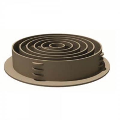 Manthorpe G700 Circular Soffit Vent - Pack of 50 - Brown