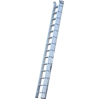 Youngman Trade 200 3 Section Push Up Extension Ladder - 4.24m - 10.62m
