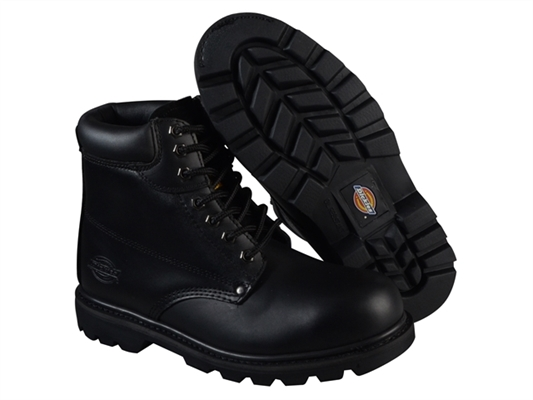 Dickies Cleveland Super Safety Boots - Black - UK 8 Euro 42