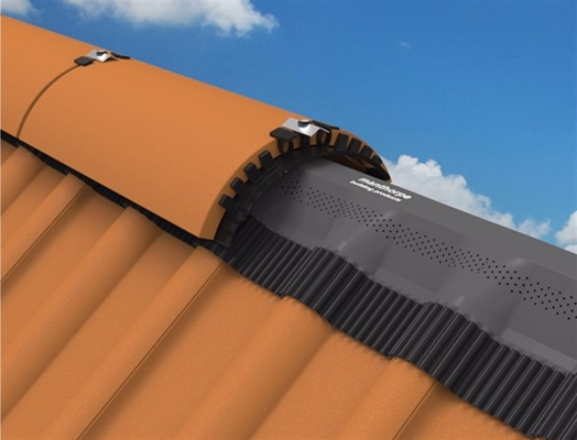 Manthorpe Roll Out Clay Ridge 6m Brown Roofinglines