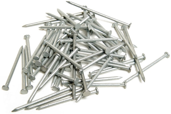 Galvanised Round Wire Nails - 65mm x 2.65mm - Pack of 1730 - 5kg