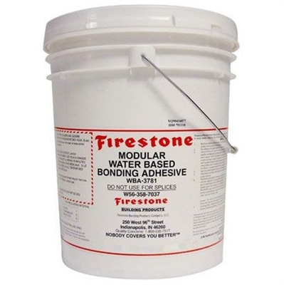 firestone modular water based bonding adhesive roofinglines. Black Bedroom Furniture Sets. Home Design Ideas