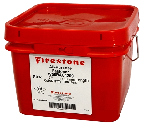 Firestone All-Purpose fasteners (Box of 100) 9.53cm